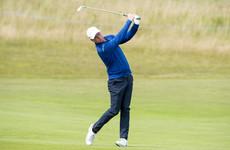 Down native Caldwell firmly in the mix as Scotland's Hill enjoys flying start on home soil