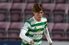 Kyogo Furuhashi on target as Celtic take first-leg Europa League advantage over Jablonec
