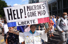 France's top constitutional court backs Macron's Covid pass