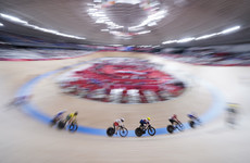 Irish disappointment as crash costs Kay and McCurley in women's madison