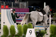 Ireland withdraw from team showjumping as first rider is eliminated after horse suffers fall