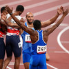 Italy win first ever Olympic men's 4x100 metres relay title