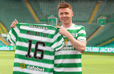 'It's been a long time coming' - McCarthy buzzing to finally be back at boyhood club Celtic