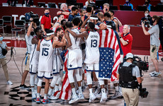 USA edge France to win Olympic basketball gold medal