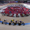 Irish team fail to finish as Denmark take gold in chaotic men's Madison