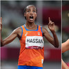 Hassan wins third medal of Games with gold in 10,000m, Jakob Ingebrigtsen dazzles in 1500m final