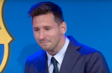 Messi in tears as he says goodbye to Barcelona in emotional press conference