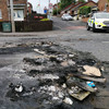 Petrol bombs and masonry thrown during disorder in Dungannon