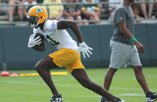 Green Bay Packers wide receiver 'forever sorry' for anti-Asian racial slur
