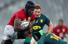 Itoje named Lions' player of the series after impressing against Boks