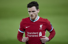Klopp says Liverpool 'got lucky' with Andy Robertson's ankle injury