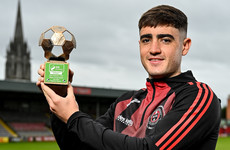 Bohs' teen sensation Dawson Devoy recognised after a string of outstanding performances