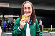 Kellie Harrington just wants a cup of tea and a scone