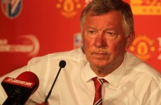 Case for the defence: Fergie worried about United back four options