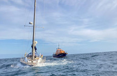 Four people rescued after yacht gets into difficulty and sinks off Wexford coast