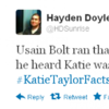 Hashtag of the Day: 7 of the best #KatieTaylorFacts