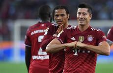 Lewandowski equaliser ensures draw for champions Bayern in Bundesliga opener