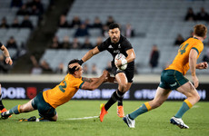 All Blacks keep Bledisloe Cup with record victory over Wallabies