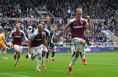 West Ham rally twice and score three goals in 14 minutes to snatch victory over Newcastle