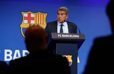 Laporta says Barcelona finances 'dramatic' but future bright