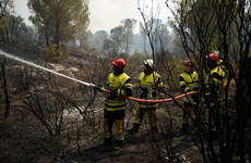 Thousands evacuated as crews battle wildfire in southern France