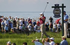 Rory McIlroy on the march at Kiawah Island