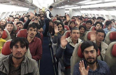 Debunked: No, images of refugees do not show there were 'just men' on planes leaving Afghanistan