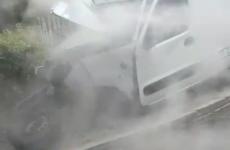 Gardaí arrest man over Navan Road crash as investigators probe whether vehicle was pursued
