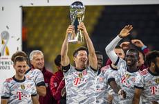 Lewandowski scores twice as Bayern beat Dortmund in German Super Cup