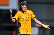 'The skull fracture took a little bit longer to heal' - Wolves striker on long road to recovery