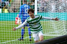 In-form Kyogo Furuhashi helps Celtic to first-leg Europa League victory over AZ Alkmaar