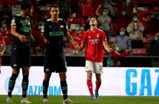 Benfica edge PSV to boost Champions League hopes