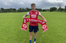 St Patrick's Athletic announce the signing of Bolton full-back Hickman
