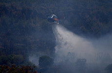 Fire crews continue efforts to subdue wildfire near French Riviera