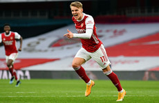 Arsenal complete permanent Martin Odegaard signing