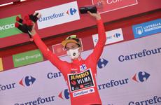 Australian Storer wins on Vuelta mountain as Roglic holds lead