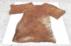 'Extraordinary' 800-year-old chain mail discovered in Co Longford shed