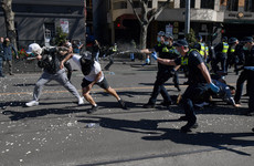 Hundreds arrested in Australia protests as country faces its worst Covid-19 rise