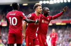 Liverpool beat Burnley to maintain winning start to the season