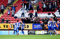 James McClean marks triumphant return to Wigan Athletic with a goal