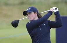 Leona Maguire four shots off the lead at rain-hit British Open