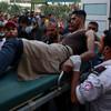 Israeli warplanes bomb Gaza after border clashes