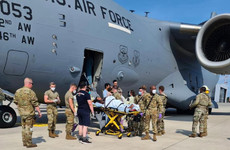 Afghan woman gives birth while aboard US military plane