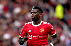 'We deserved more' - Pogba frustrated by Man United setback