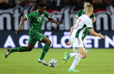 Ogbene emerges as injury doubt for Ireland's World Cup qualifiers