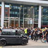 Anti-vaccine protesters 'force their way into ITN's London headquarters'