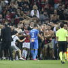 Police arrest man and order stand closure after Ligue 1 match abandoned
