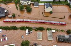 Climate change made deadly Europe floods up to nine times more likely - study