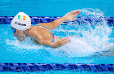 Ní Riain aims to find stride after ideal preparation in S13 100m Butterfly