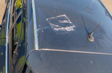 Breeze block thrown at police vehicle in 'reckless' Belfast attack